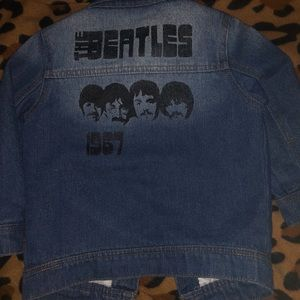 Other - THE BEATLES DENIM JACKET FOR CHILDREN/TODDLERS 3T